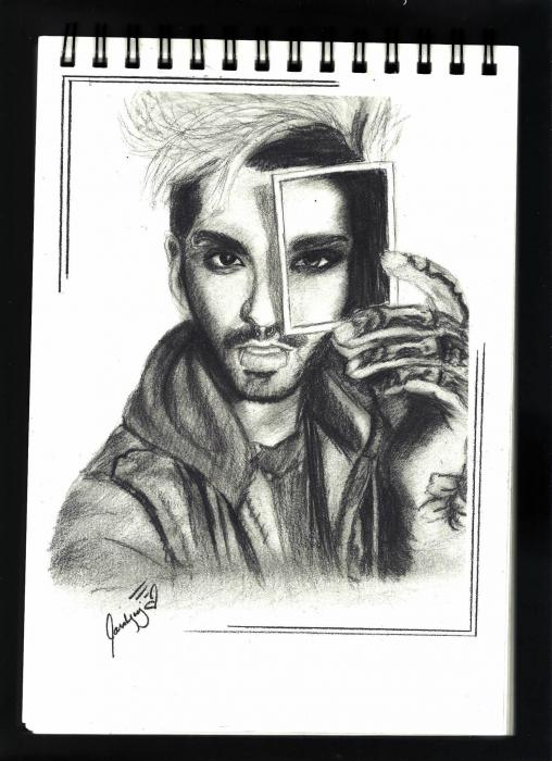 Bill Kaulitz by lara-0630